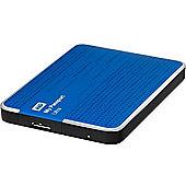 WD My Passport Ultra WDBMWV0020BBL 2 TB Premium Portable External Hard Drive Blue USB 3.0 and USB 2.0 compatibility Automatic & cloud backup