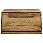 Square Wooden Bread Bin