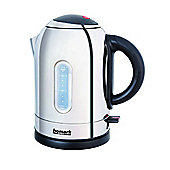 3000w 1.7L Cordless Kettle with 360 Degree Base in Stainless Steel