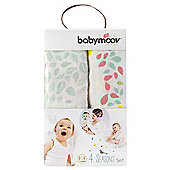 BabyMoov Muslin Blanket Set - 4 Seasons