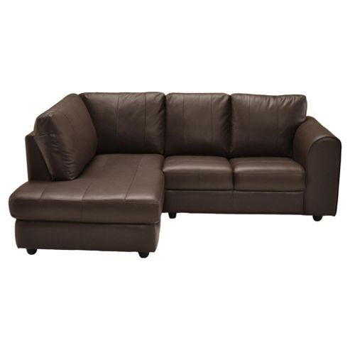 Imola Corner Chaise Chocolate Lhf