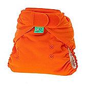 TotsBots Stretchy Wrap Pumpkin Nappy Cover (Size 2)