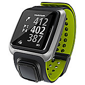 TomTom Golfer GPS Watch, Bluetooth, Waterproof, GPS, Dark Grey/Green