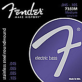 Fender Stainless Steel Bass Guitar Strings 7350M 45-105
