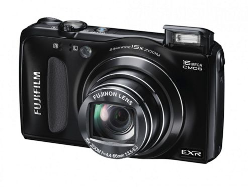 Fuji FinePix F660EXR Digital Camera, Black, 16MP, 15x Optical Zoom, 3.0 inch LCD screen