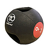 Fitness-MAD 9Kg Double Grip Medicine Ball