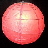 Loxton Lighting Paper Lantern (Set of 2) - 30cm - Fushia