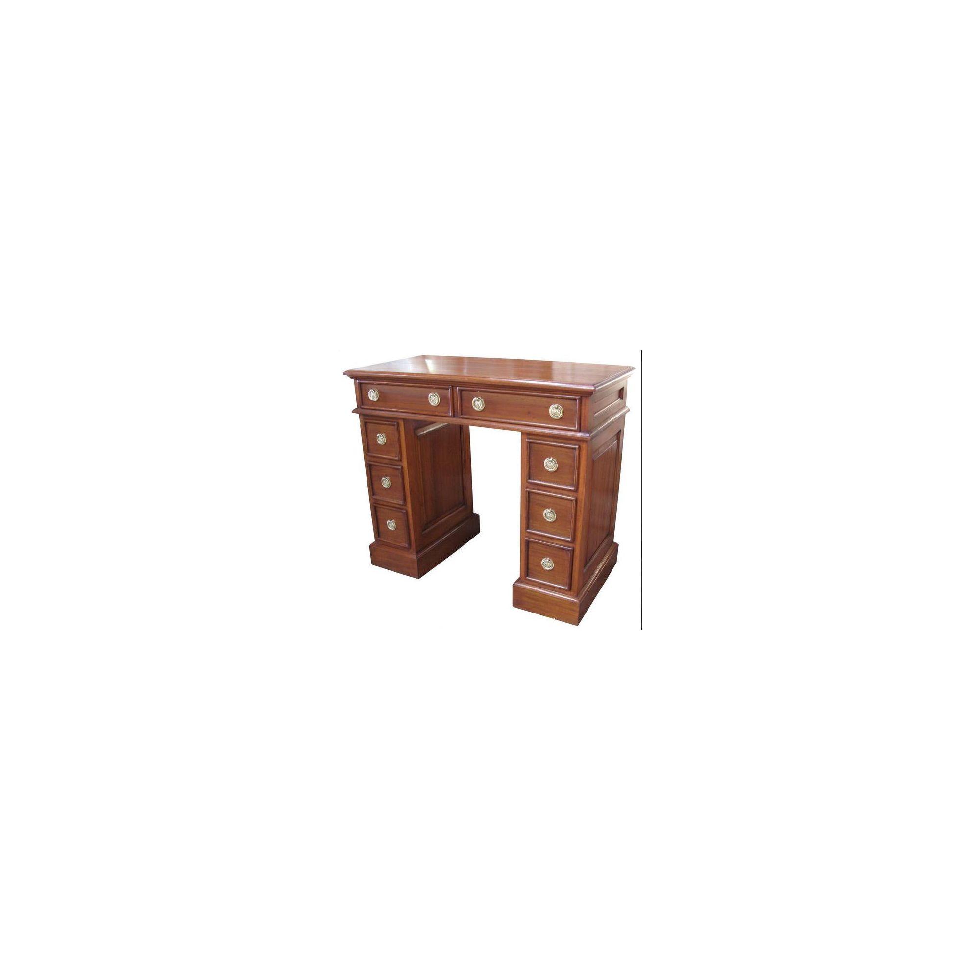 Lock stock and barrel Mahogany Petite Desk in Mahogany at Tesco Direct