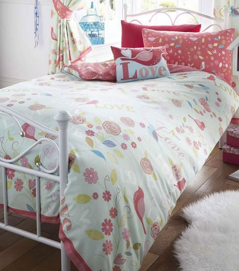 buy melody single bedding from our duvet covers range tesco. Black Bedroom Furniture Sets. Home Design Ideas