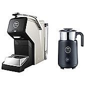 Lavazza A Modo Mio Espria Espresso LM3100 - BU with Milk Frother