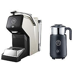 Lavazza A Modo Mio Espria Espresso LM3100 - BU with Free Milk Frother