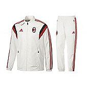 2014-15 AC Milan Adidas Presentation Tracksuit (White) - White
