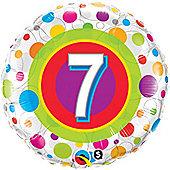 18' Age 7 Colourful Dots (each)
