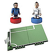 Character Building Sports Stars Collect & Build with 3 Figures-Assortment – Colours & Styles May Vary