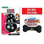 Big Dog Pack: Kong Extreme XXL + Kong Extreme Goodie Bone