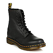 Dr Martens Womens Black Pascal VirginiaLeather Boots - Black