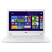 "Acer Aspire v3-371, 13.3"" Laptop, Intel Core i3, 4GB RAM, 500GB + 8GB SSD White"