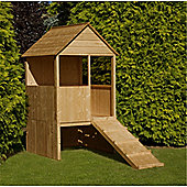 4 x 4 Wooden Lookout Playhouse