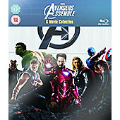 Marvel's The Avengers: 6 Movie Collection (Blu-ray Boxset)