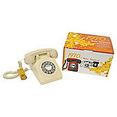 Gpo 1970'S Retro Push Button Telephone - Ivory