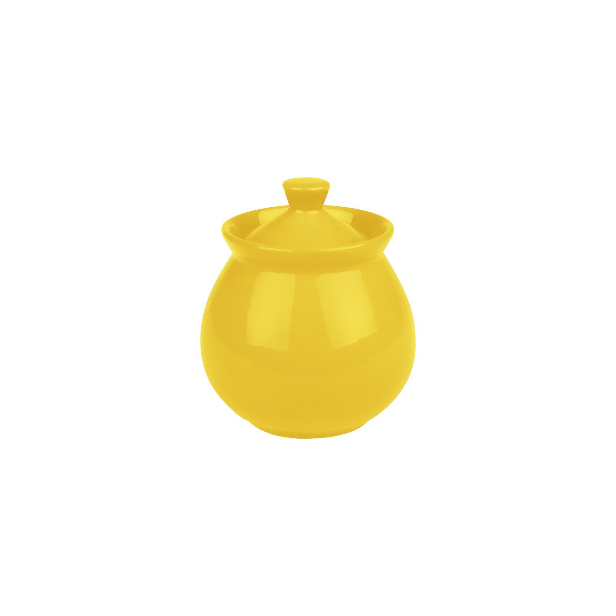 Yellow sugar bowls with lids - Waechtersbach Fun Factory Sugar Bowl With Lid In Yellow