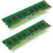 Kingston Technology - Value Ram - Valueram 16Gb (2X8Gb) -Kit Of 2 - 16Gb 1333Mhz Ddr3 Ecc Cl9 Dimm
