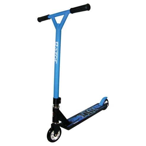 Razor Pro III Stunt Scooter, Black/Blue