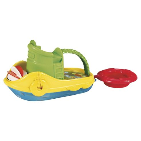 Munchkin Tug Along Boat Bath Toy