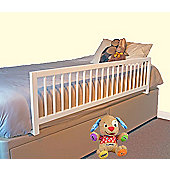 Safetots Extra Wide Wooden Bed Rail White
