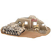 Pzkpfw II Ausf. F 1:76 Scale Model Kit - Hobbies