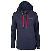 Redwing Womens Pullover Walking Hiking Front Pocket Jumper Sweater Top Hoodie - Blue