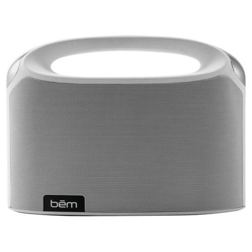 Bem Wireless Boom Box Speaker White