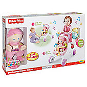 Fisher-Price Brilliant Basics Stroll-Along Walker Gift Set