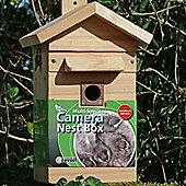 Cedar Bird Nest Box & Feeder with Colour Night Vision Camera with Audio - Multi Species