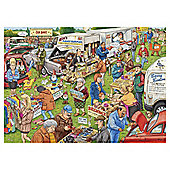 Knotworth Bothrynwithe Car Boot 1000 Piece Jigsaw Puzzle
