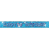 Dazzling Effects 90th Birthday Banner - 12ft (each)