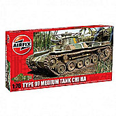 Type 97 Medium Tank Chi Ha (A01319) 1:76