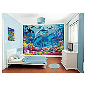 Sea Adventure Wallpaper Mural 8ft x 10ft