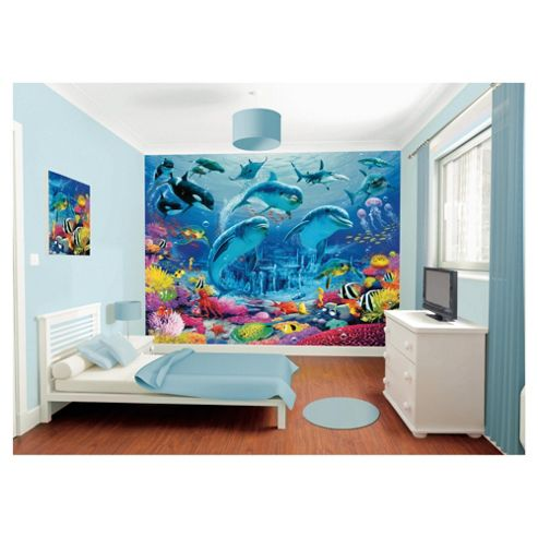 Sea Adventure Wallpaper Mural 8ft x 10ft