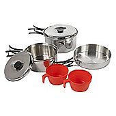 Regatta Compact Steel Cook Set
