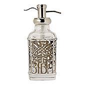 Biba Glass Soap Dispenser