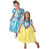 Reversible Cinderella to Snow White 5-6 years