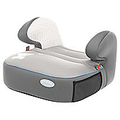 Obaby Group 2-3 Booster Seat - Tiny Tatty Teddy Grey
