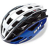 SH+ Spiider Fiery Helmet: Blue S/M.
