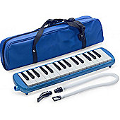 Stagg Melodica Reed Keyboard Blue