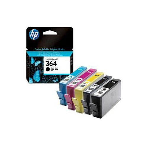 Hewlett-Packard Original Ink Cartridges to Replace HP364 (Pack 4) - Cyan/Magenta/ Yellow/Black