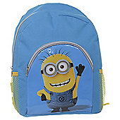 Despicable Me 2 Backpack with Pockets Waving Minion