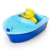 Green Toys Launch Boat (Blue)