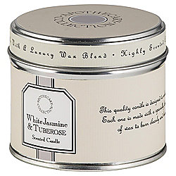 Tesco Apothecary White Jasmine and Tuberose Candle in a Tin