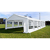 White 4x10m Wedding Garden Party Marquee